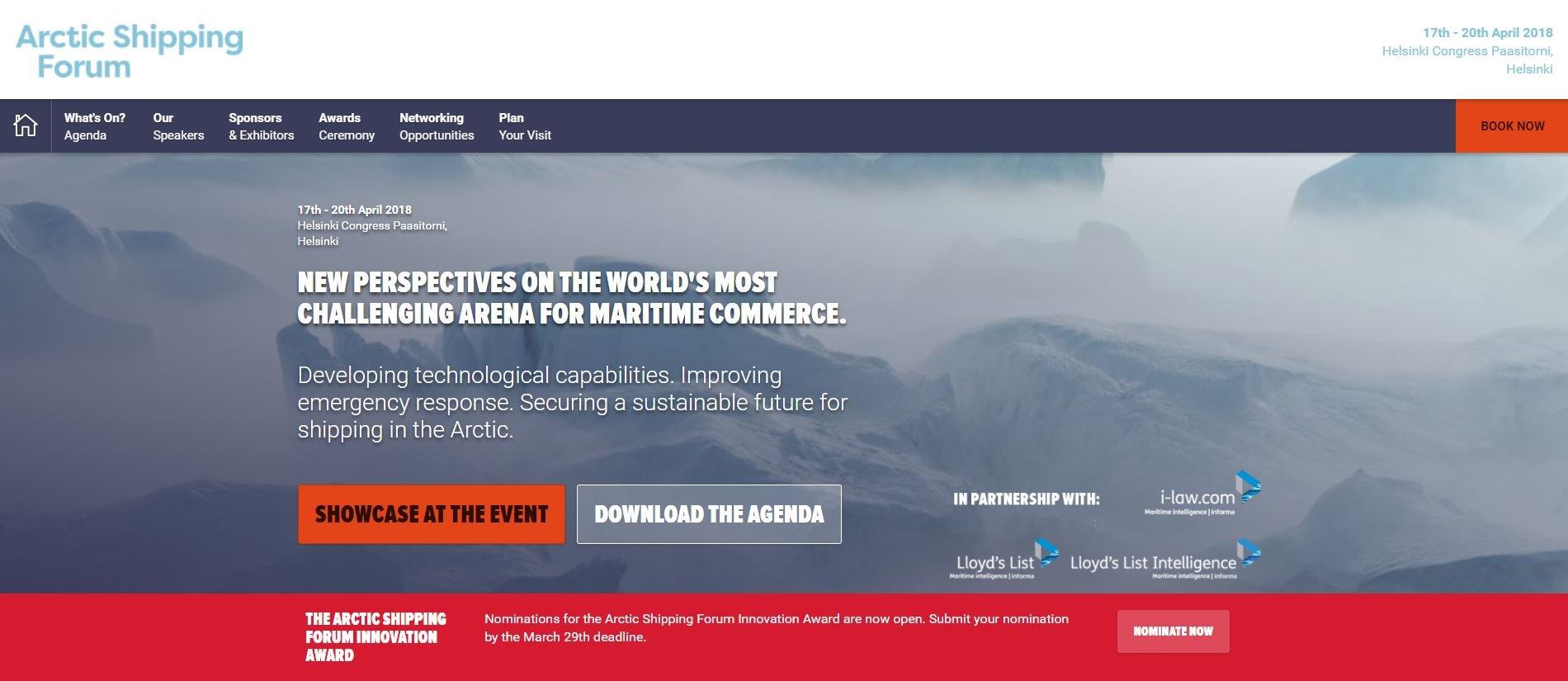 Faksimile_Arctic Shipping Forum