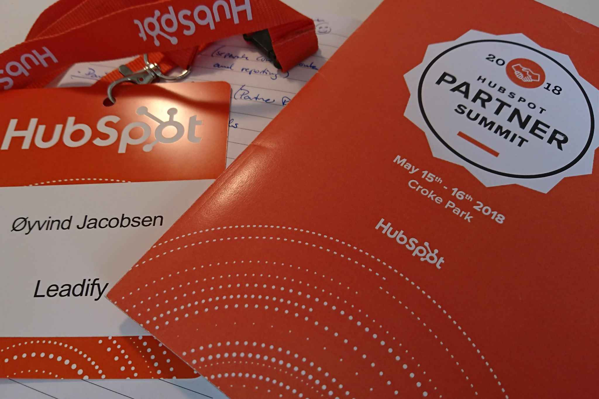 HubSpot PartnerSummit 2018