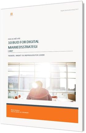 10 bud for Digital markedsstrategi 2017 Inbound Markedsføring og Salg
