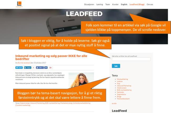 B2B-nettsider: Gjett hva som er kunder sin favoritt?
