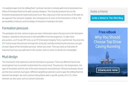 Markedsstrategi B2B Inbound Marketing Oljebransjen (Odfjell Well Services)