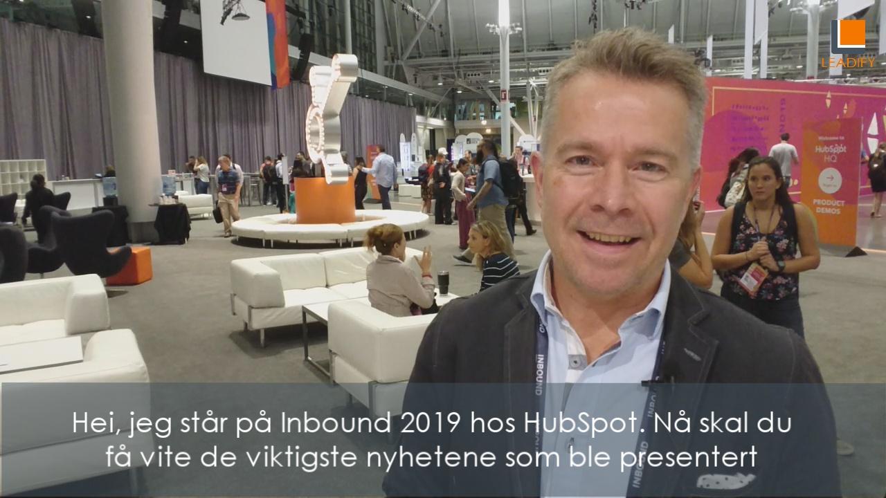 Nyheter i HubSpot 2019