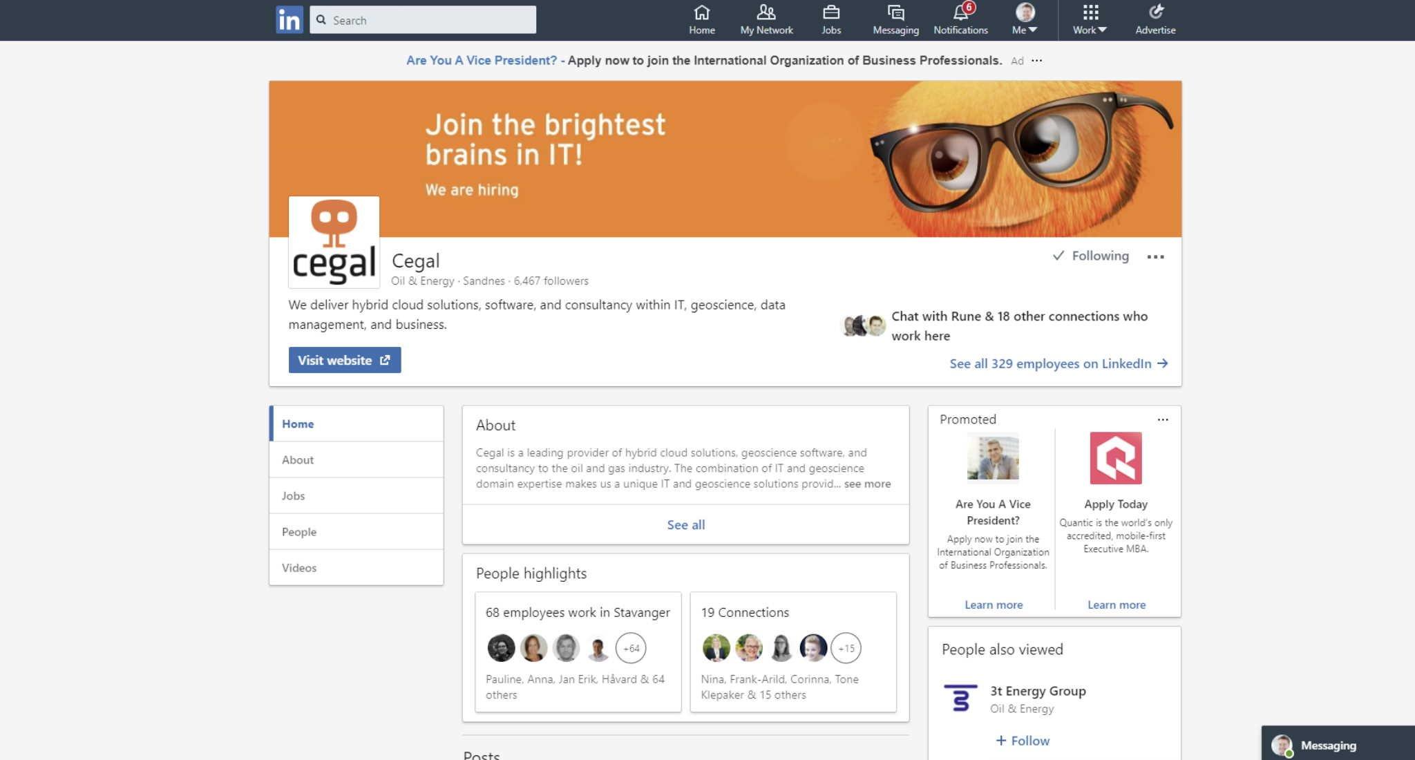 Slik lager du en bedriftsside (Company Page) på LinkedIn som selger