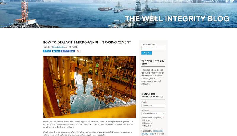 Wellcem: How to deal with micro-annuli in casing cement
