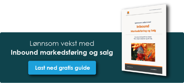 Klikk og last ned gratis guide: Inbound Marketing