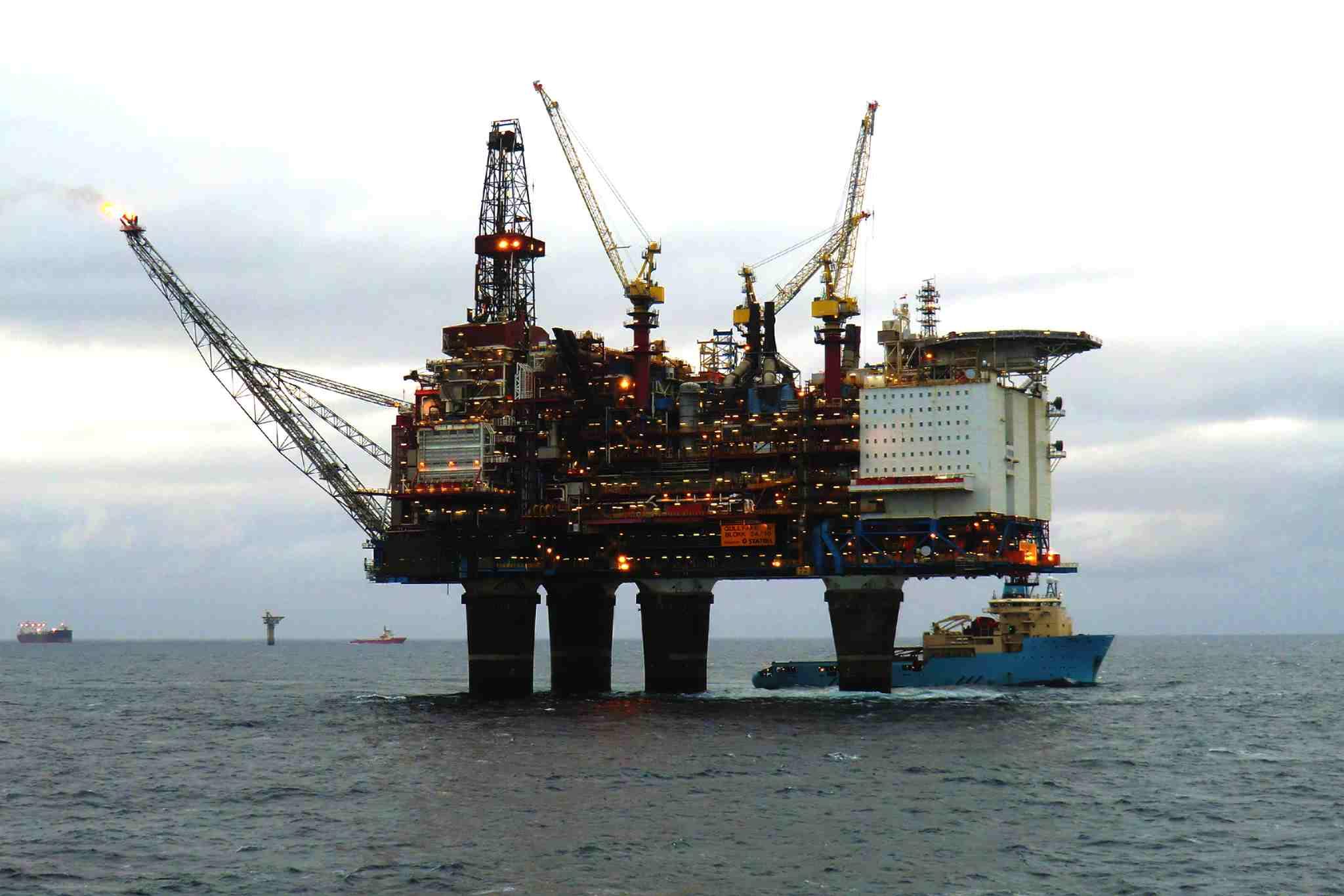 Burde ikke flere nettsider i oljebransjen generere leads og økt salg?