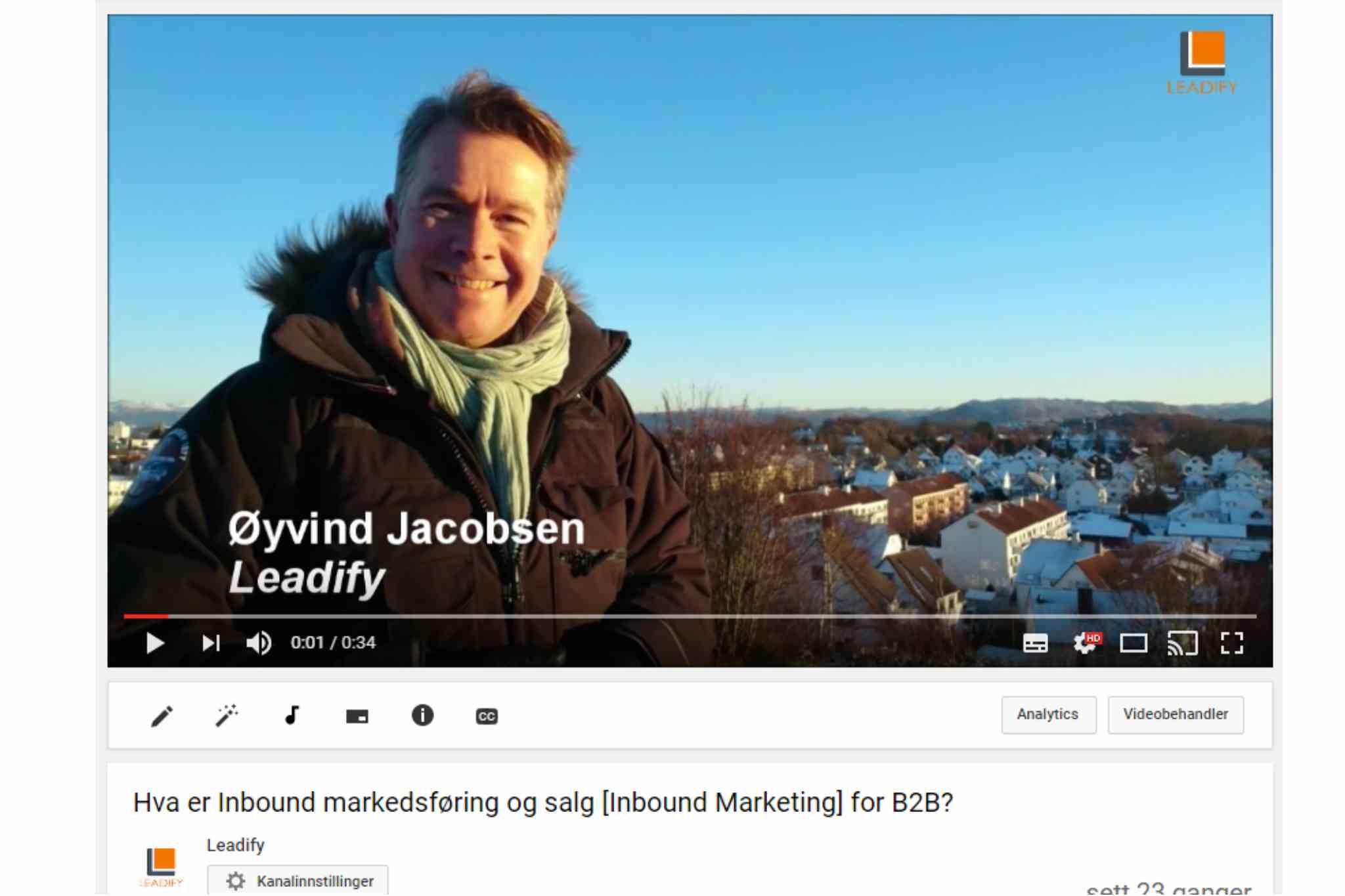 Video i Markedsføring og Salg B2B - funker det? [1:2]